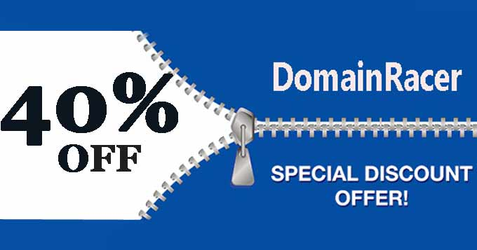 domainracer discount coupon code