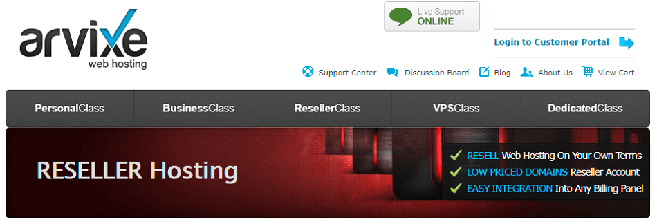 low cost reseller hosting