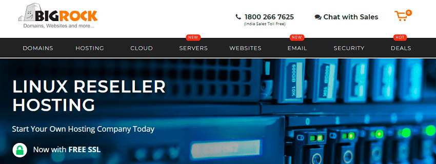 web hosting reseller india